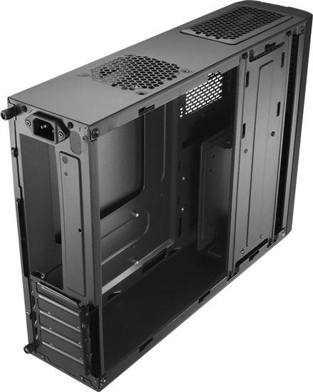 Корпуса для ПК Aerocool QS-101 и Aerocool QS-102 рассчитаны на платы типоразмера microATX и mini-ATX