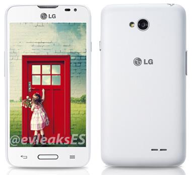 LG L65 в обновленном дизайне