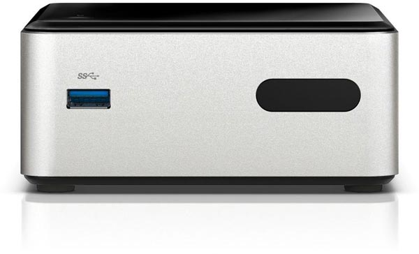 В мини-ПК Intel NUC DN2820FYKH процессор Celeron N2830 пришел на смену процессору Celeron N2820