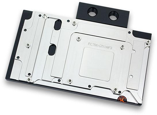 Водоблок EK-FC780 GTX WF3 является водоблоком с полным покрытием