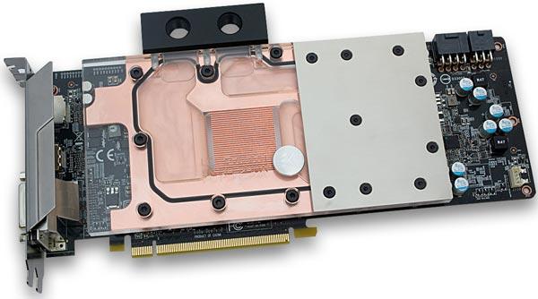 Функционально и внешне водоблок EK-FC R9-290X Rev. 2.0 идентичен своему предшественнику