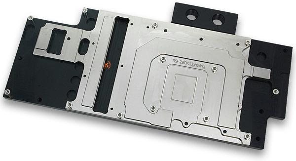 В одну СВО можно включить до четырех водоблоков EK-FC R9-290X Lightning