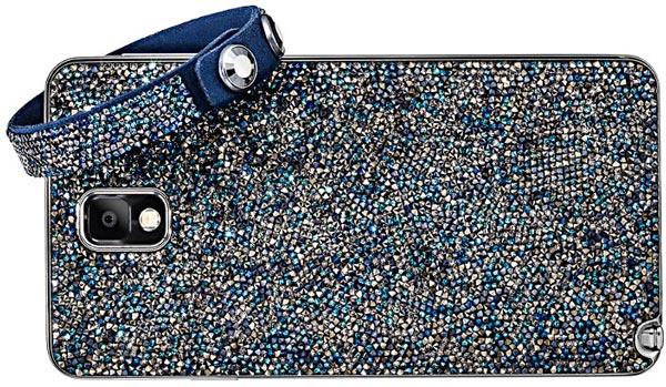Кристаллами Сваровски будет усыпана вся задняя поверхность аппарата Samsung Galaxy S5 Crystal Edition
