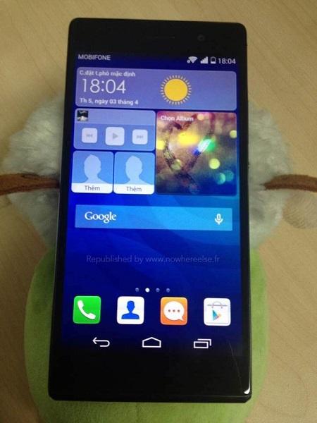 Презентация смартфона Huawei Ascend P7 пройдёт 7 мая в Париже