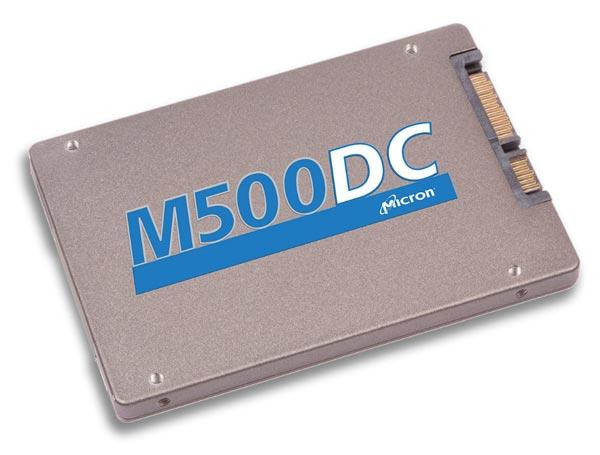 Накопители Micron M500DC выпускаются в четырех вариантах объема — 120, 240, 480 и 800ГБ