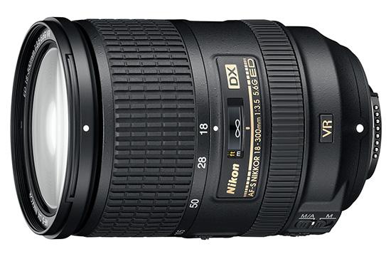 Новая версия объектива Nikon 18-300mm f/3.5-6.3G VR ED DX отличается меньшими размерами и массой