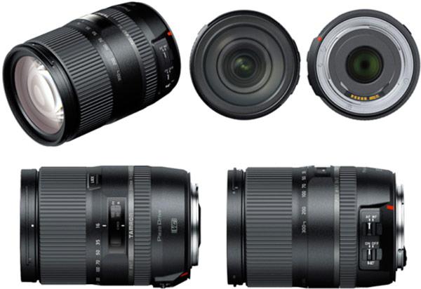 Первыми в продаже появятся варианты объектива Tamron 16-300mm F/3.5-6.3 Di II VC PZD Macro (Model B016) для камер Canon и Nikon