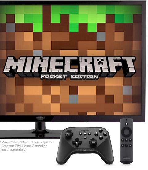 Приставка Amazon Fire TV предложена в качестве платформы для игр и приложений