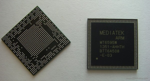 ��������� ������ ���������� �� SoC MediaTek MT6595 ��������� � ����� ��������� �����