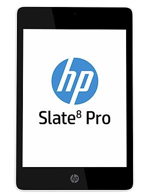 Планшетный компьютер HP Slate 8 Pro Business Tablet ориентирован на корпоративных пользователей