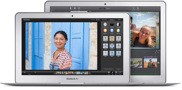 Компьютеры Apple MacBook Air поставляются с операционной системой OS X