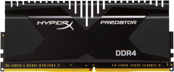 Поставки наборов модулей памяти HyperX Predator DDR4 производитель обещает начать в текущем месяце