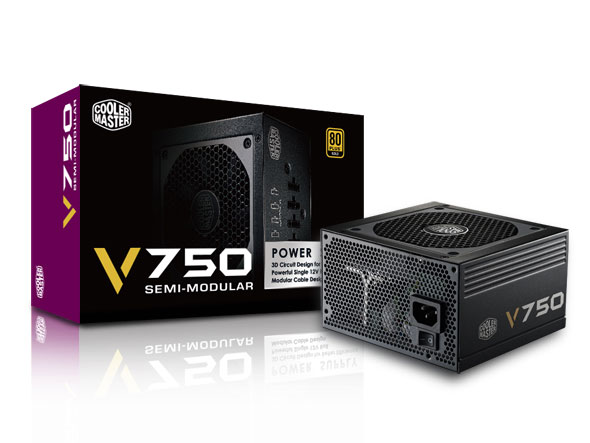 ���� ������� Cooler Master V750 Semi-Modular ������� ��������������� ��������� ��������