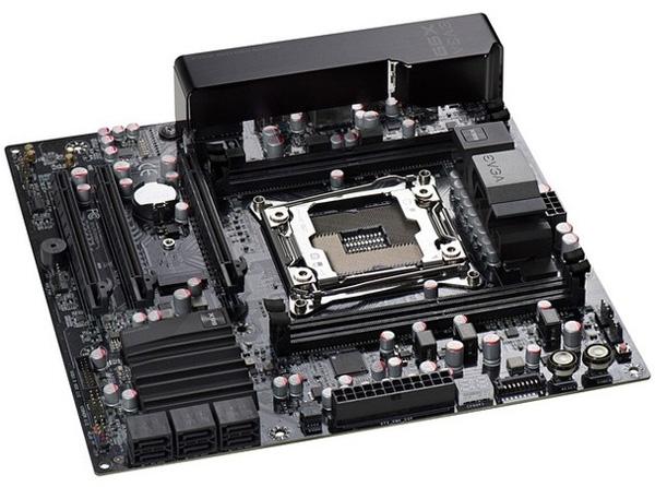 Системная плата EVGA типоразмера microATX на чипсете Intel X99
