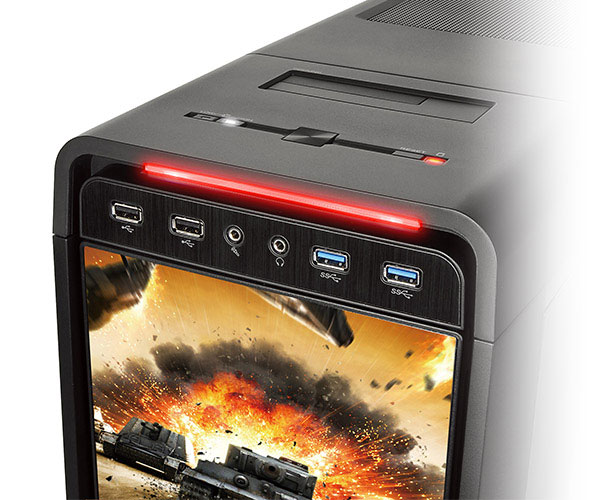 Модель Thermaltake Urban S71 World of Tanks Edition относится к категории full-tower