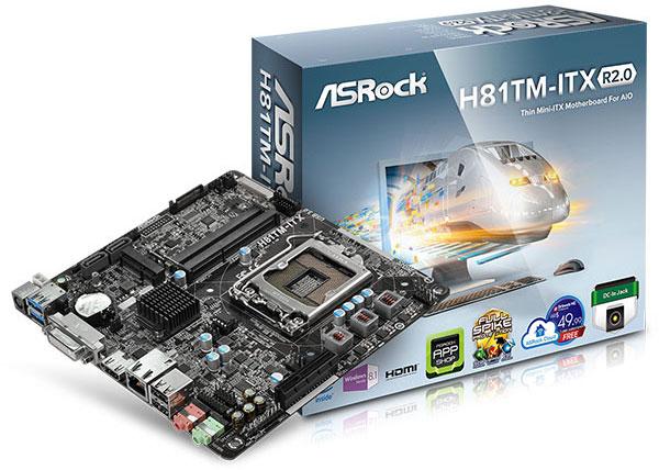 ASRock H81TM-ITX R2.0