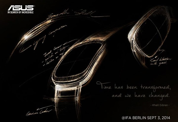 Тизерная картинка Asus ZenWatch