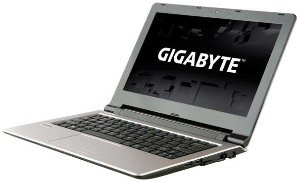Легкий ноутбук Gigabyte Q21 весит 1,35 кг
