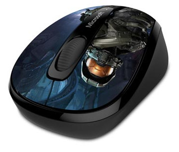 ���� Microsoft Wireless Mobile Mouse 3500 Halo Limited Edition: The Master Chief ������������� �� ����������� ����� ��� Halo