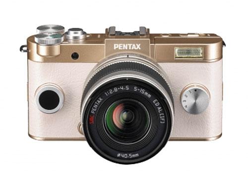 Камера Pentax Q-S1 будет предложена в нескольких вариантах цветового оформления