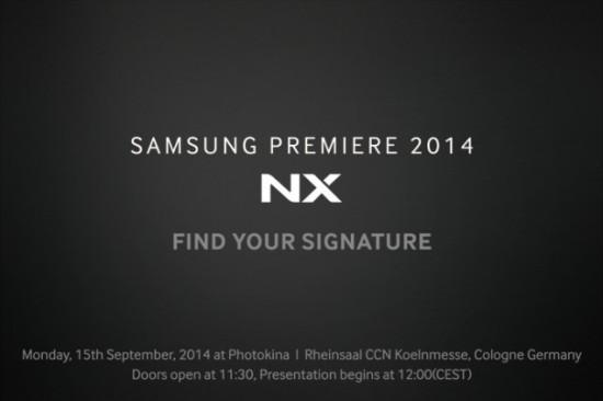 Выход камеры Samsung NX1 ожидается 15 сентября