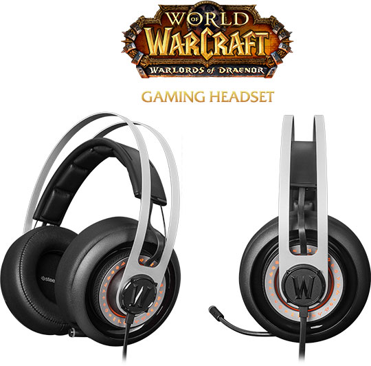 Выпуск игровой гарнитуры Siberia Elite World of Warcraft Edition приурочен к выходу дополнения Warlords of Draenor