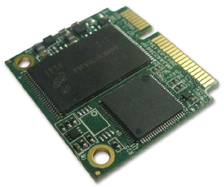 Объем миниатюрных SSD Super Talent mSATA mini SJ1 и mSATA достигает до 64 и 128 ГБ соответственно