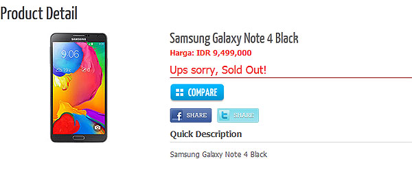 Samsung Galaxy Note 4: спецификации