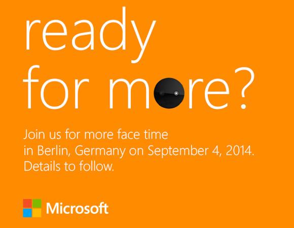 Четвертого сентября Microsoft представит новые смартфоны