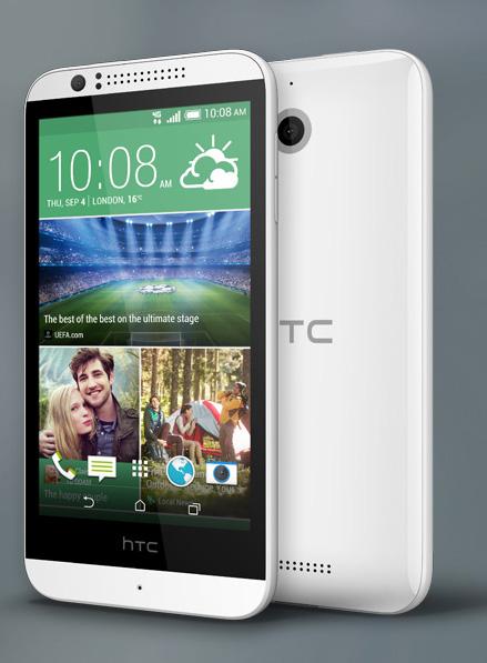 Бюджетный смартфон htc desire 510 получил 64