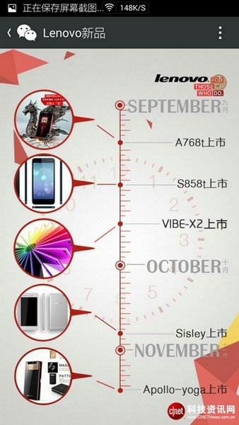 Дорожная карта по выпуску новых смартфонов LOenovo