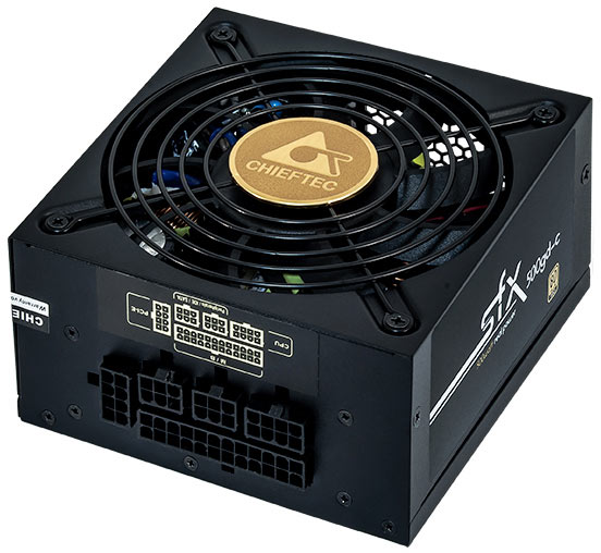 Максимальная мощность блока питания Chieftec Smart SFX-500GD-C равна 500 Вт