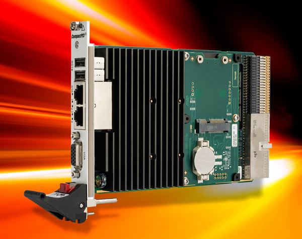 В конфигурацию MEN CompactPCI PlusIO F23P может входить до 16 ГБ памяти DDR3 с ECC