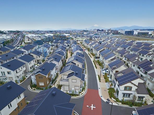 Компания Panasonic ввела в строй город Фуджисава, строительство которого началось в 2010 году