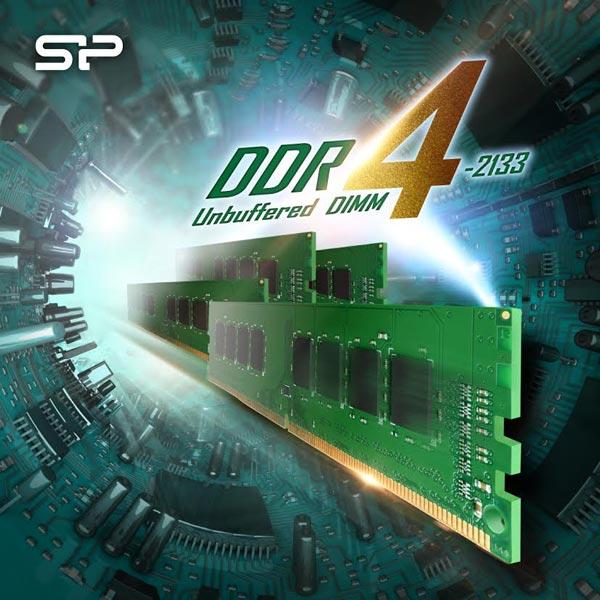 Пропускная способность модулей Silicon Power UDIMM DDR4-2133 достигает 17 ГБ/с