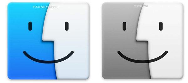 Заявки поданы на цветной и черно-белый варианты логотипа Apple Mac Logo