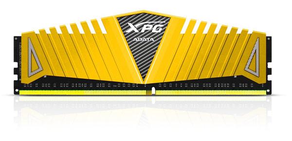 Adata окрашивает радиаторы модулей памяти DDR4 XPG Z1 в золотистый цвет