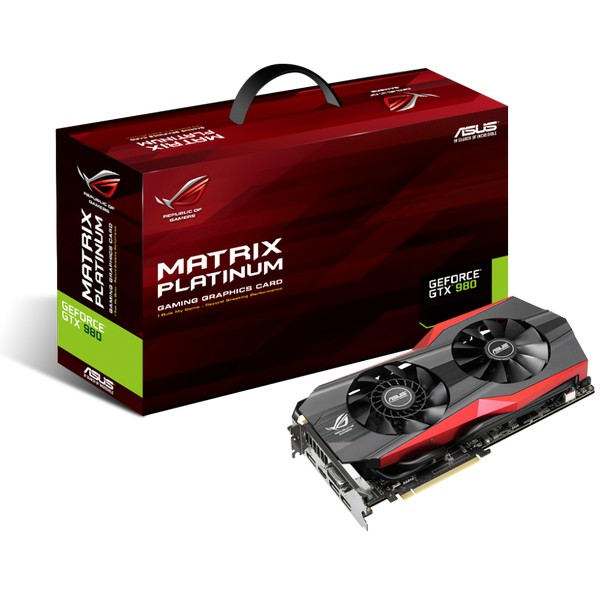 Asus GeForce Matrix Platinum GTX 980