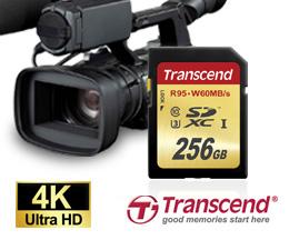 Цена карты памяти Transcend SDXC UHS-I U3 объемом 256 ГБ — $289