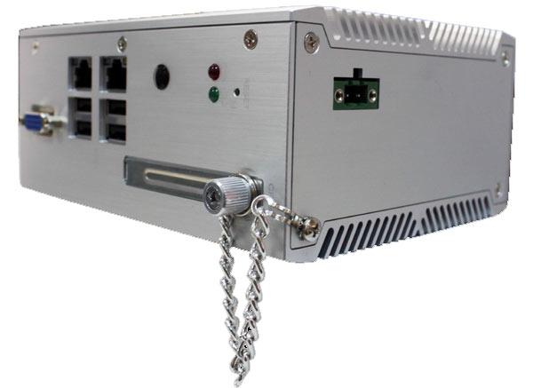 «Программируемый встраиваемый контроллер» Arbor Solution ARES-5300 рассчитан на монтаж на рейке DIN