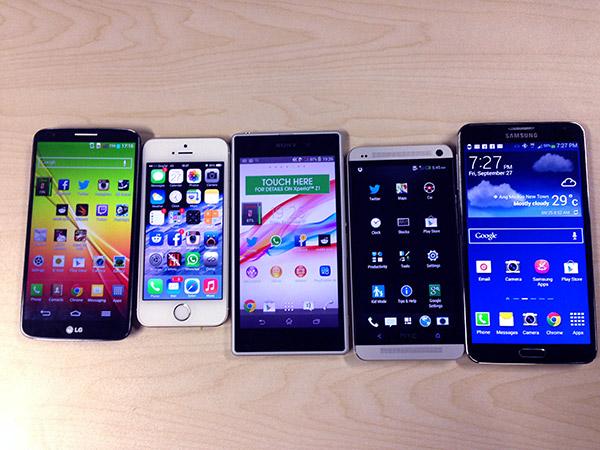 смартфоны корея китай