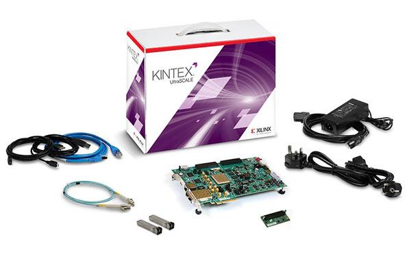 �� ������ Xilinx, ��������������� ������� Kintex UltraScale KU040 �� ��� ��������� ��������� �����������
