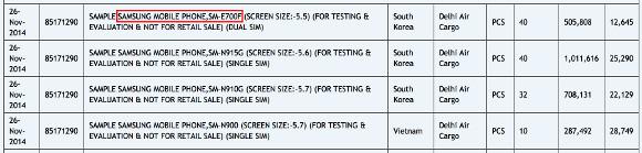 Samsung SM-E700F