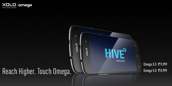 Xolo Omega 5.0 Omega 5.5