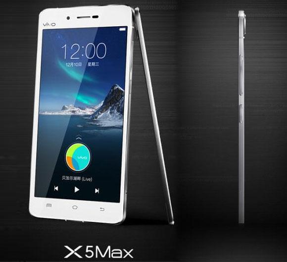 Продажи Vivo X5 Max стартуют 22 декабря по цене около $485