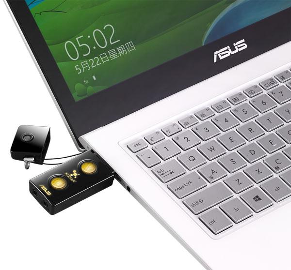 Внешняя звуковая карта Asus Xonar U3 Plus ориентирована на пользователей настольных и мобильных ПК