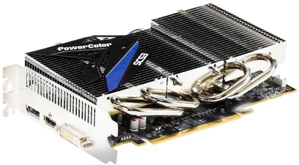В конструкцию системы охлаждения PowerColor SCS3 R9 270 2GB GDDR5 входят тепловые трубки и массивный радиатор из нескольких блоков
