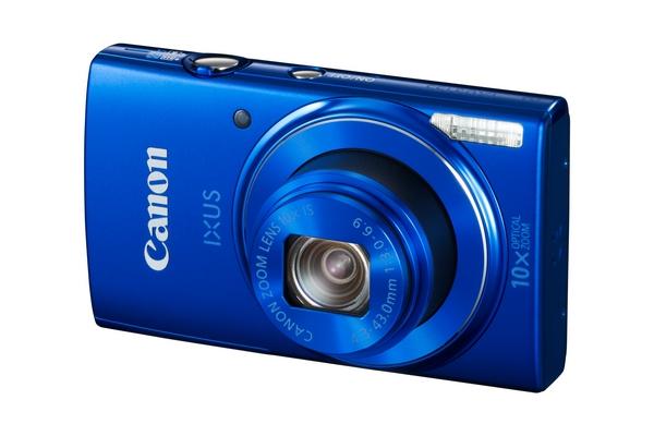 Камера IXUS 155 оснащена стабилизированным объективом с ЭФР 24-240 мм