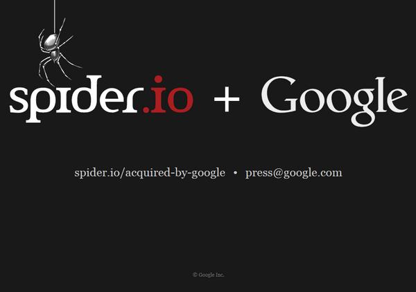 Google Spider.io