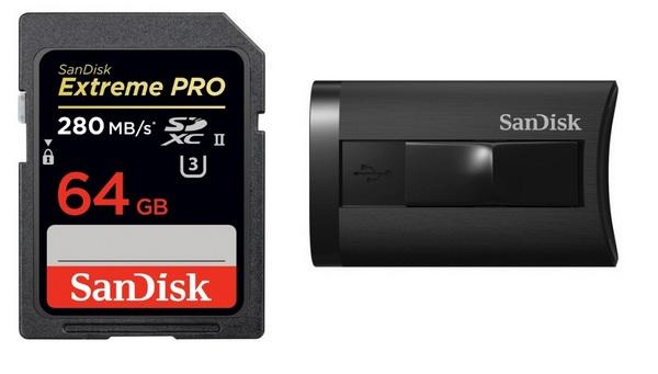 SanDisk Extreme PRO SDHC/SDXC UHS-II